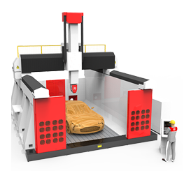 5-axis CNC Machining Center, SF-2040T-5S Series