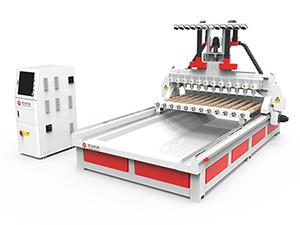 12 Spindles CNC Router