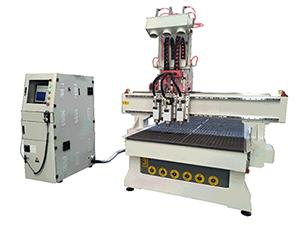 3 Spindles CNC Router
